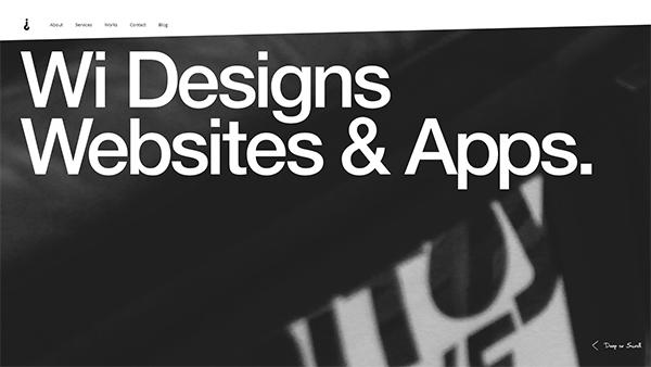 Why Interactive in 45 Modern Minimal Websites