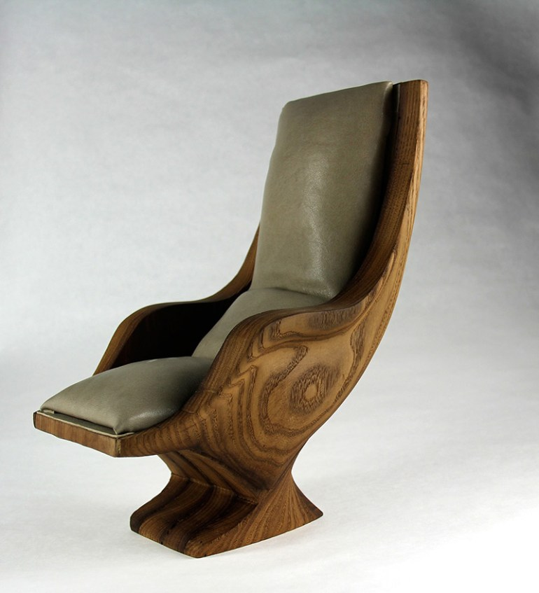 Lounge Chair by Kate Dannessa in Showcase of Creative Furniture Designs