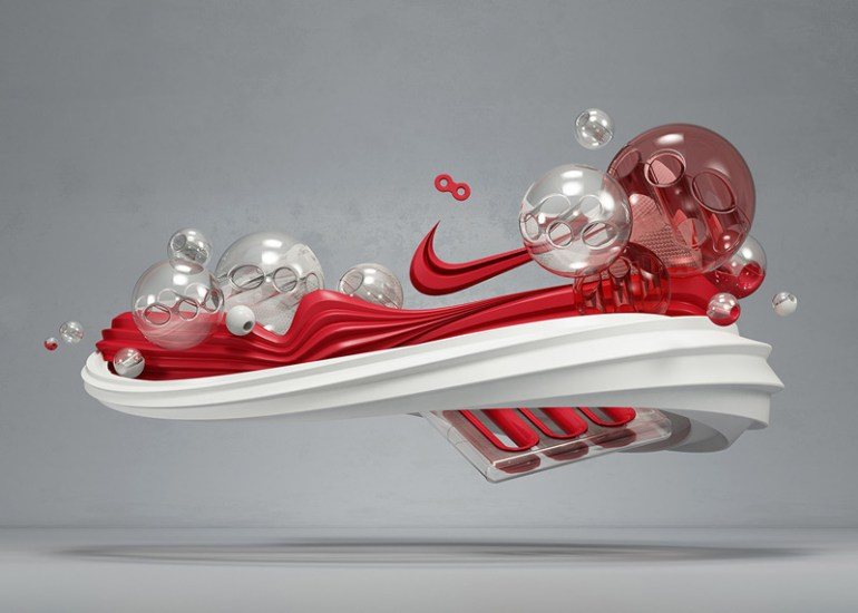 Nike Air Max Lunar1 by Rizon Parein in Showcase of Creative Nike Advertisements