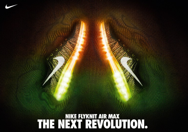 Nike Flyknit Air Max by ILOVEDUST in Showcase of Creative Nike Advertisements