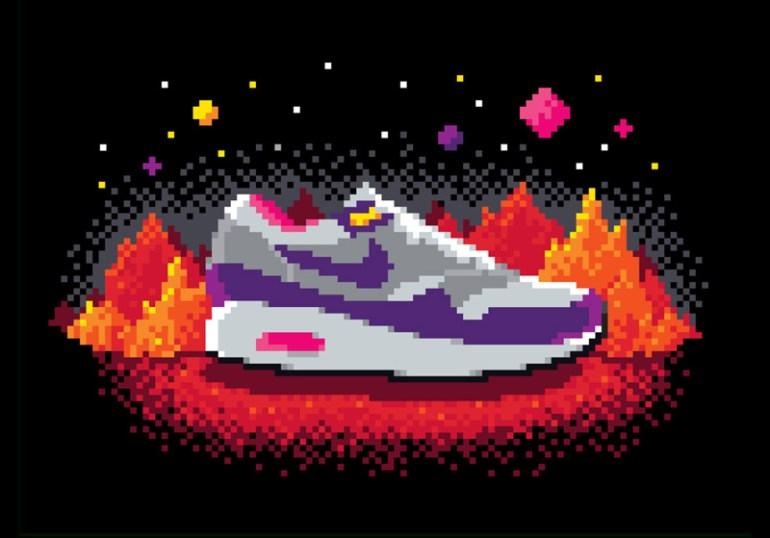 Nike Graphic Studio / Apparel Work by Matt Stevens in Showcase of Creative Nike Advertisements