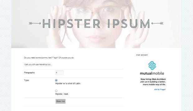 hipster_ipsum