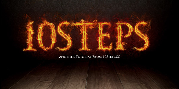 Create a Stunning Text on Wild Fire Effect in 40 Creative Photoshop Text Effect Tutorials