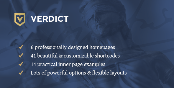 Verdict - An Expert Theme for Lawyers, Legal Advisors & Law Firms