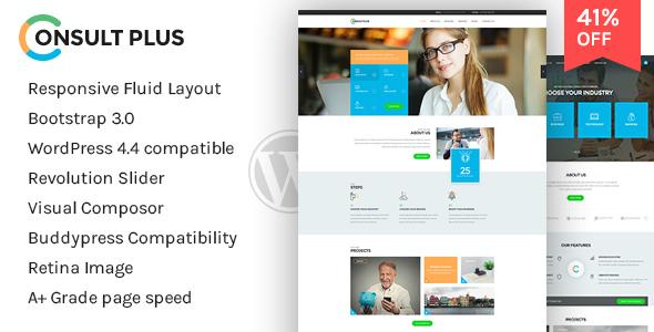 Consultancy - Corporate Business WordPress Theme