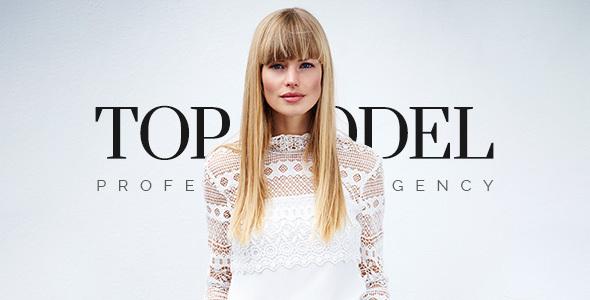 Top Model - Fashion Model Agency WordPress Theme