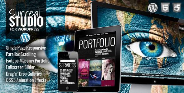 Surreal - One Page Parallax WordPress Theme