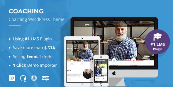 Speaker and Life Coach WordPress Theme | Coaching WP