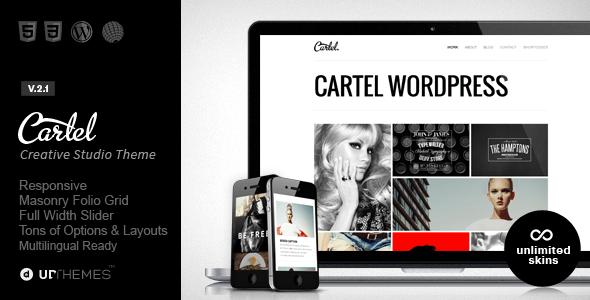 Cartel - Responsive Portfolio WordPress Theme