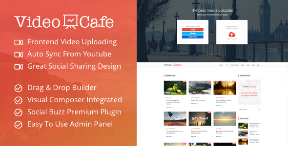 Video Cafe - Responsive WordPress Video Magazine Theme
