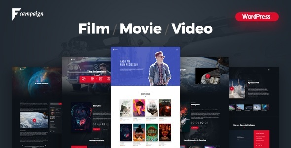 FilmCampaign - Complete Film Campaign WordPress Theme