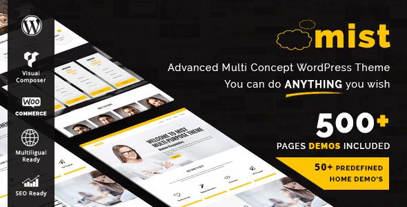 Mist - Advanced Multi-Concept Theme