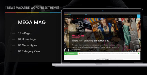 MegaMag - News, Newspaper, Magazine, Blog, Viral Content and Review WordPress Theme