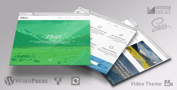 Neat - Lightweight WordPress with Sass & Bourbon Neat