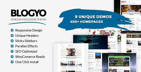 Blogyo - Multipurpose Magazine Theme