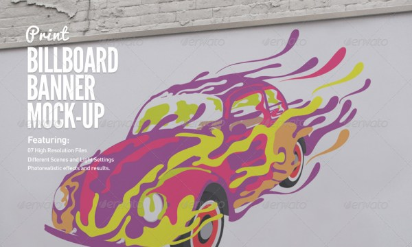 Billboard & Banner Mock-Up