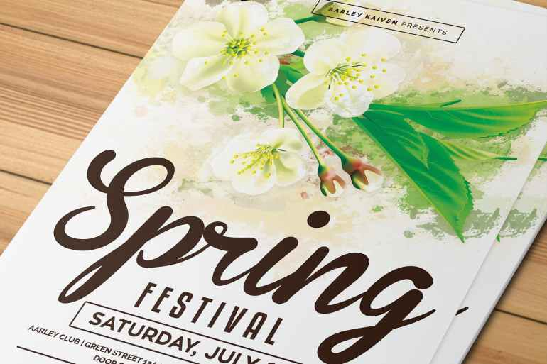 Spring Festival Flyer / Invitation