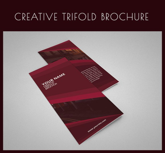 Creative Tri-fold Brochure Template PSD