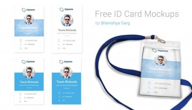 ID Card Mockups