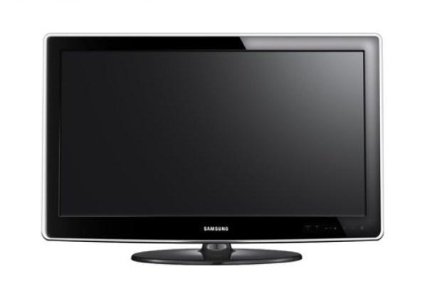 LCD Flat TV Mockup