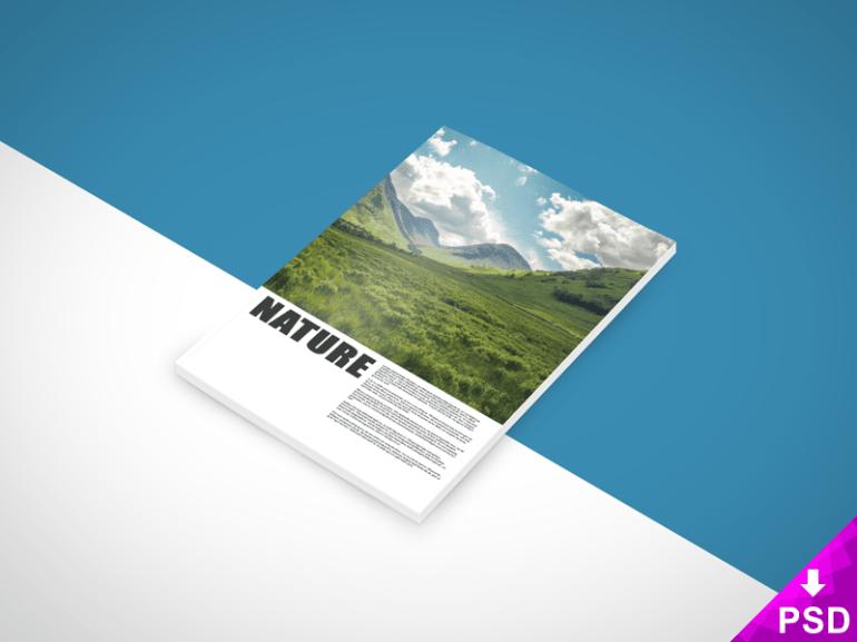 Nature Book Mockup