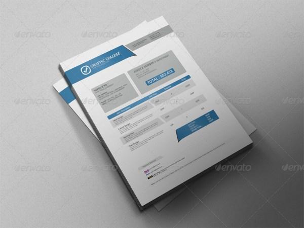 Professional Invoice Template Vol.2
