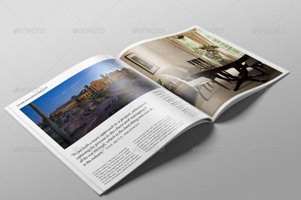 Square Magazine Mock-Up