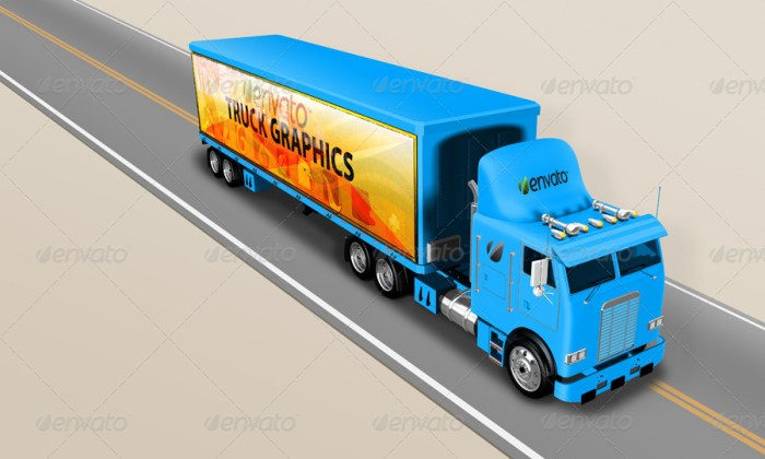 Truck Mockup 5K 2014