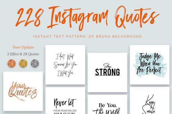 228 Instagram Essential Quotes