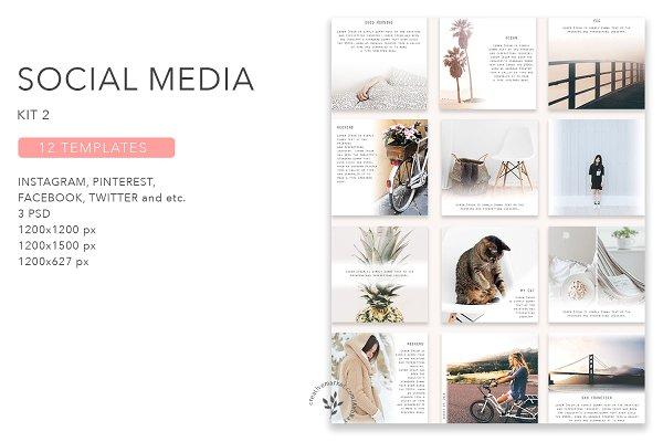 Social Media Pack / Kit 2