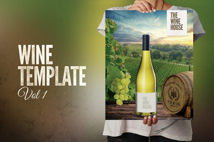 Full Wine Template
