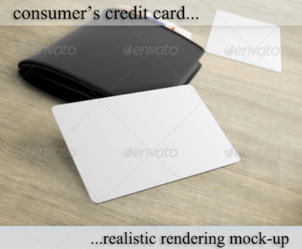 Credit/Debit/Bonus Card Mockup