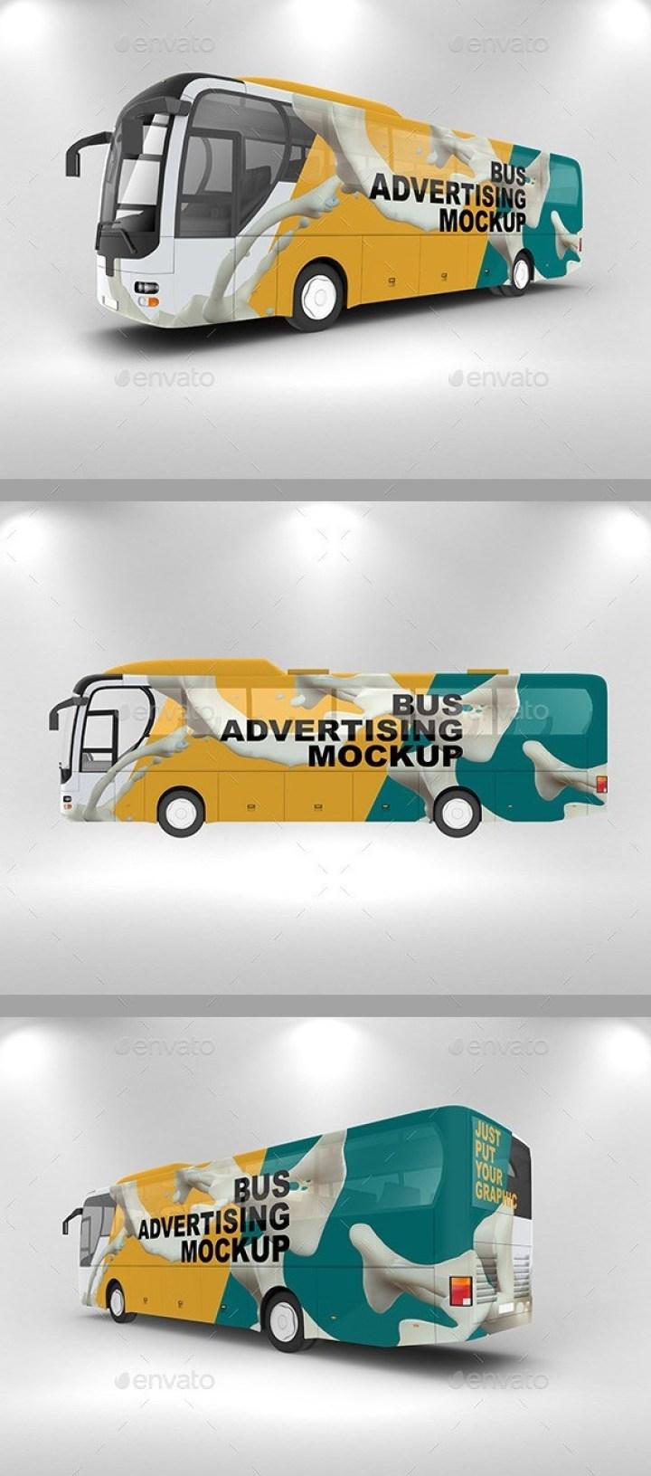 Bus Advertising Mockup
