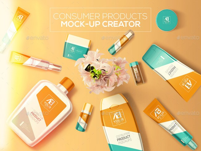 Consumer Products Mockup