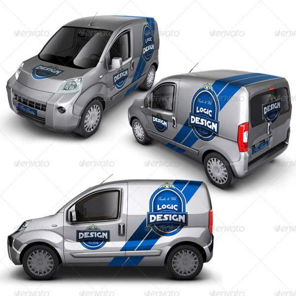 Mini Car Mockup
