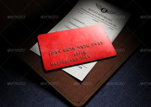 Photorealistic Full-Custom Credit Card Mockup