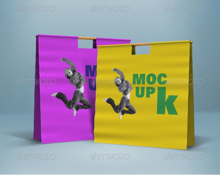 best premium shopping bag mock-up template