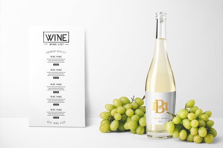 Wine Bottles Mockup Vol. 2