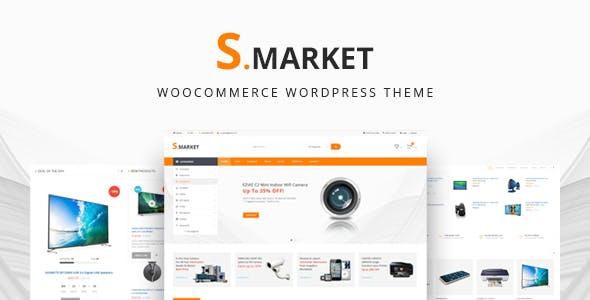 Smarket - Advanced Multipurpose WooCommerce WordPress Theme