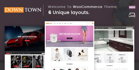 Down Town - Multipurpose WooCommerce Theme