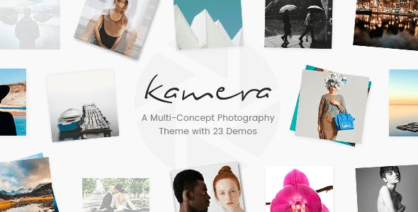 Kamera - A Beautiful Multi-Concept Photography Theme