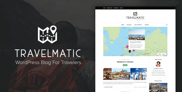 Travelmatic - Travel Blog WordPress Theme