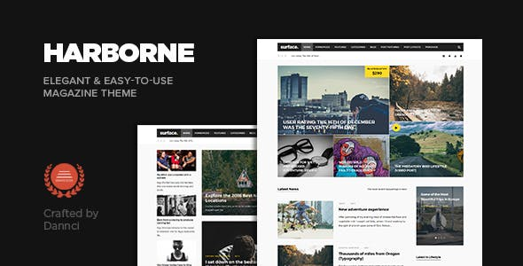 Harborne - Magazine & Blog WordPress Theme