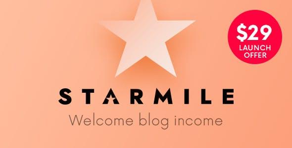 Starmile   Blog Monetization WordPress Theme