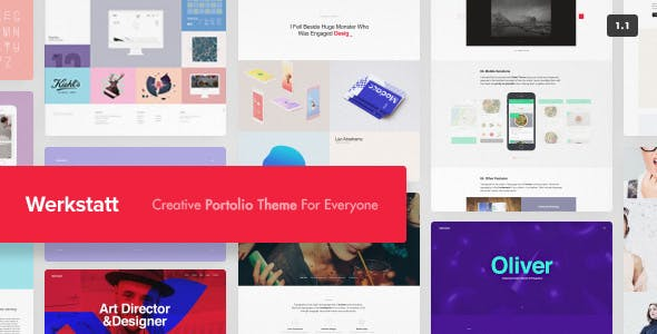 Werkstatt - Creative Portfolio Theme