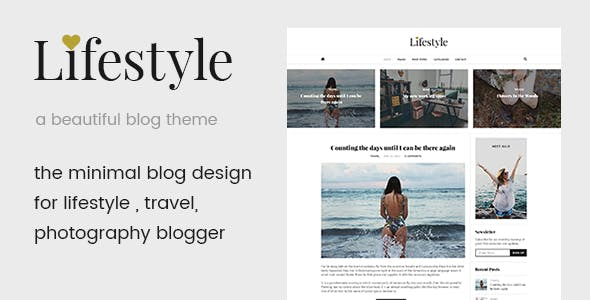 Life Style - A Beautiful Blog WordPress Theme