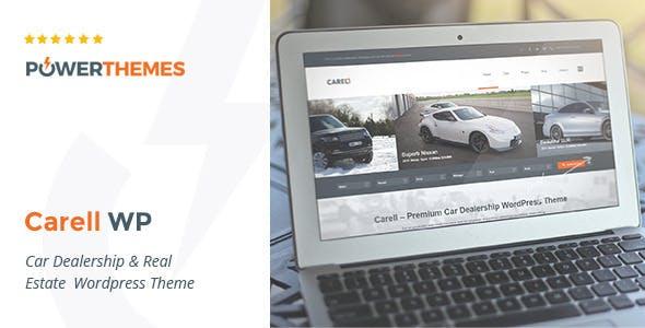 Carell - Real Estate & Car Dealership WP Theme