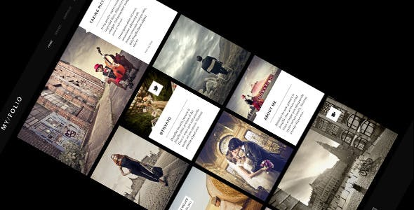 MY FOLIO - Retina Ready WP Photography Theme