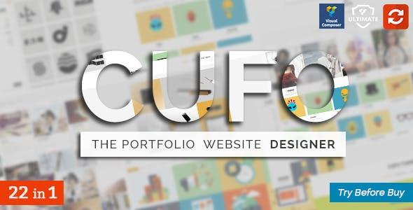Cufo - Responsive WordPress Portfolio Theme