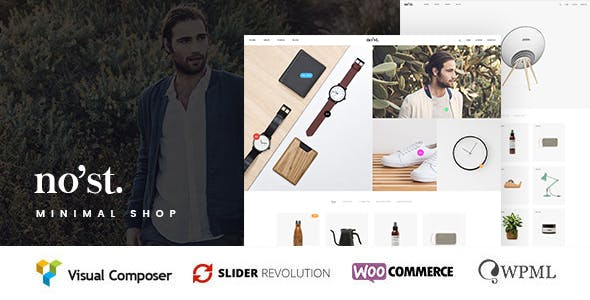 Nost - A Modern, Minimal Shop Theme